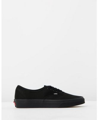 Vans - Authentic   Unisex - Sneakers (Black & Black) Authentic - Unisex