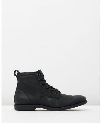 Windsor Smith - Krab - Boots (Black Pista Leather) Krab