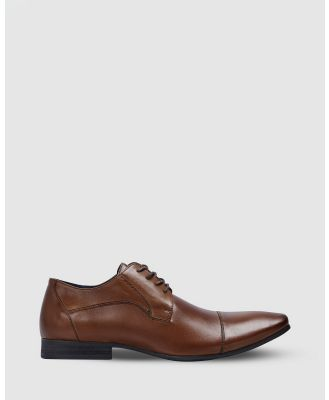 Yd. - Garbo Dress Shoes - Dress Shoes (BROWN) Garbo Dress Shoes