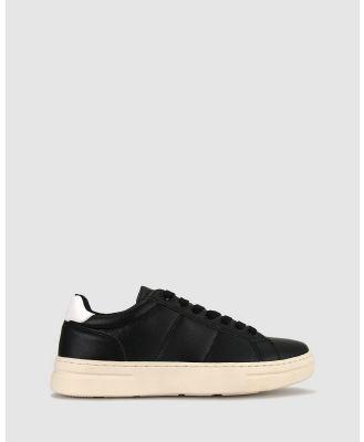 Zeroe - Bear Lifestyle Shoes - Lifestyle Sneakers (Black) Bear Lifestyle Shoes