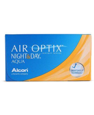 Air Optix Night & Day Aqua 6 Pack Contact Lenses